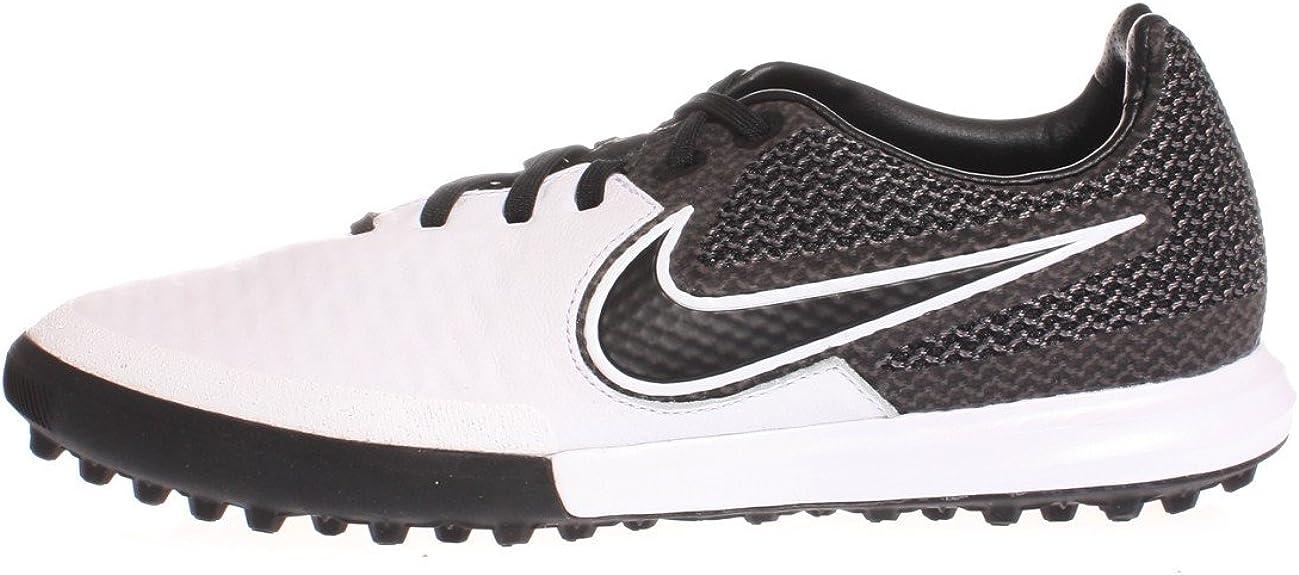 Tierra Altoparlante No autorizado  Nike Magistax Finale TF, Men's Football Boots Football Boots, White (White  (White/Black-Black)), 5.5 UK (38.5 EU): Amazon.co.uk: Shoes & Bags