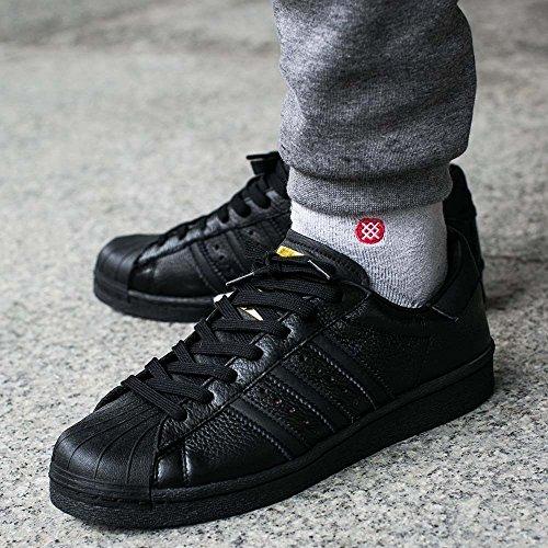Adidas bb0186 Schwarz Superstar Noir Or PrprW