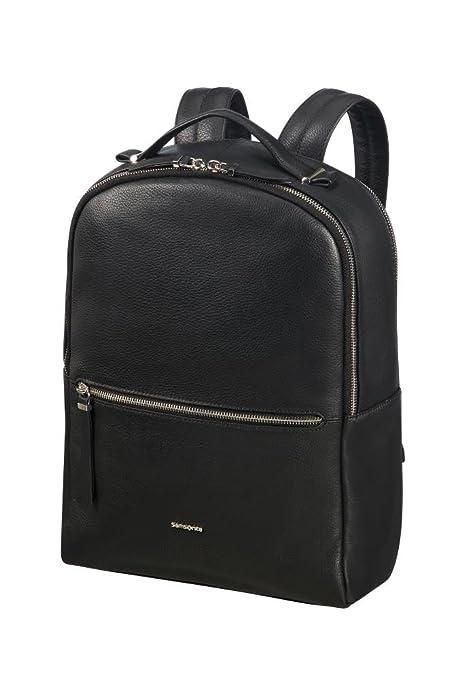 """2e06a8fb20b9 SAMSONITE Backpack 14.1"""" (Black) -Highline II Casual Daypack, ..."""