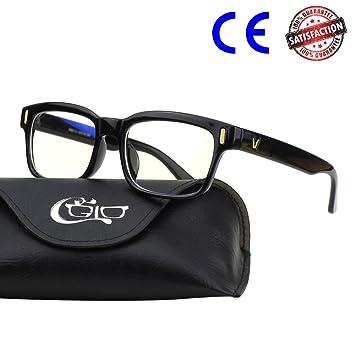 4b2c459a2c284f CGID CT84 Lunettes pour Ordinateur lecteurs Lire Lunettes pour Jeux vidéo Anti  lumière Bleue Fatigue oculaire