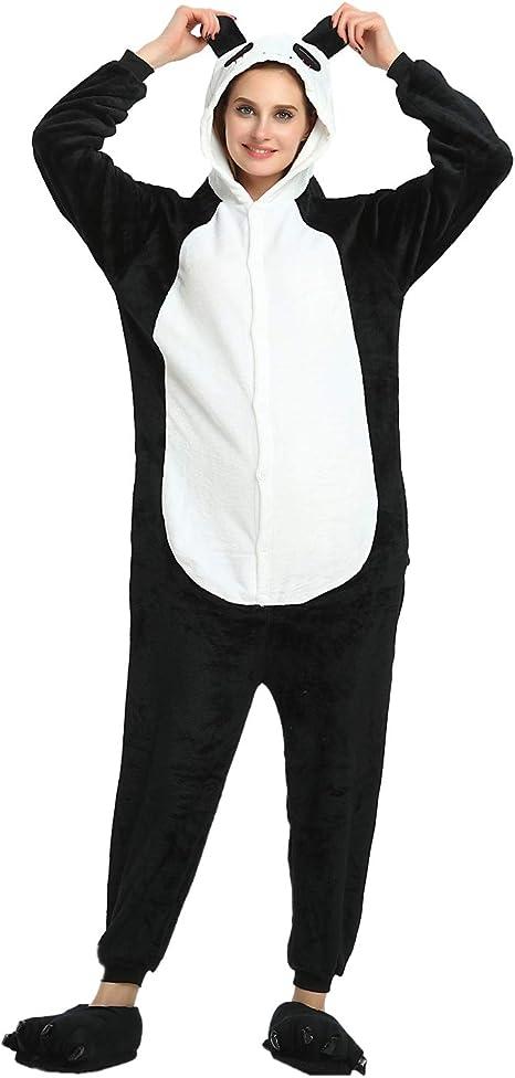 SUPERLIEU Halloween Costumes Unisex Adult Onesie Sleeping Wear Kigurumi Pajamas
