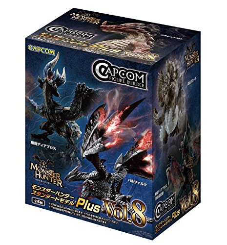 (Capcom Monster Hunter Plus Vol. 8 Blind Box Action Figures (Single Random Blind Box))