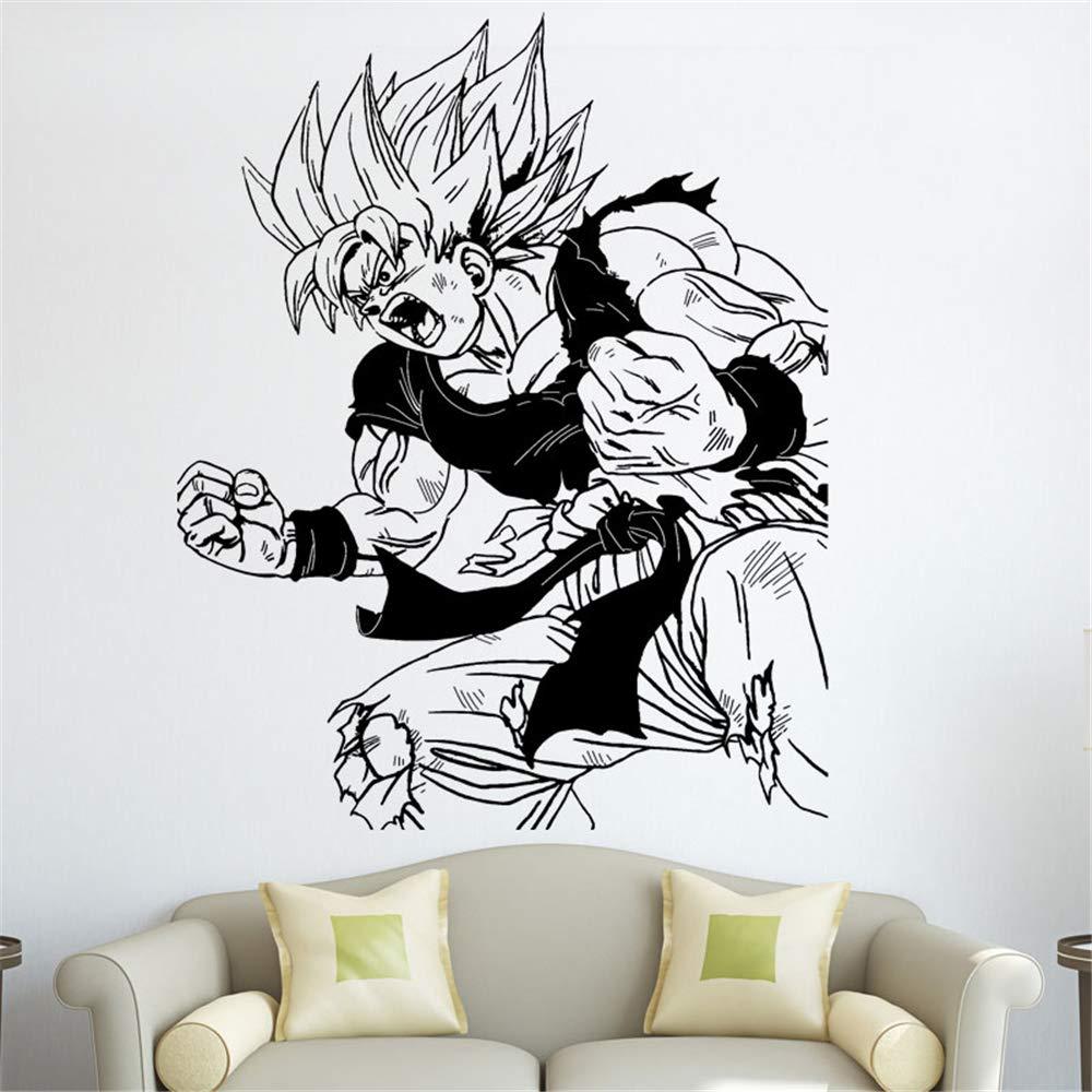 Dragon Ball Tatuajes de pared Dragon Ball Z Anime Japonés Goku ...