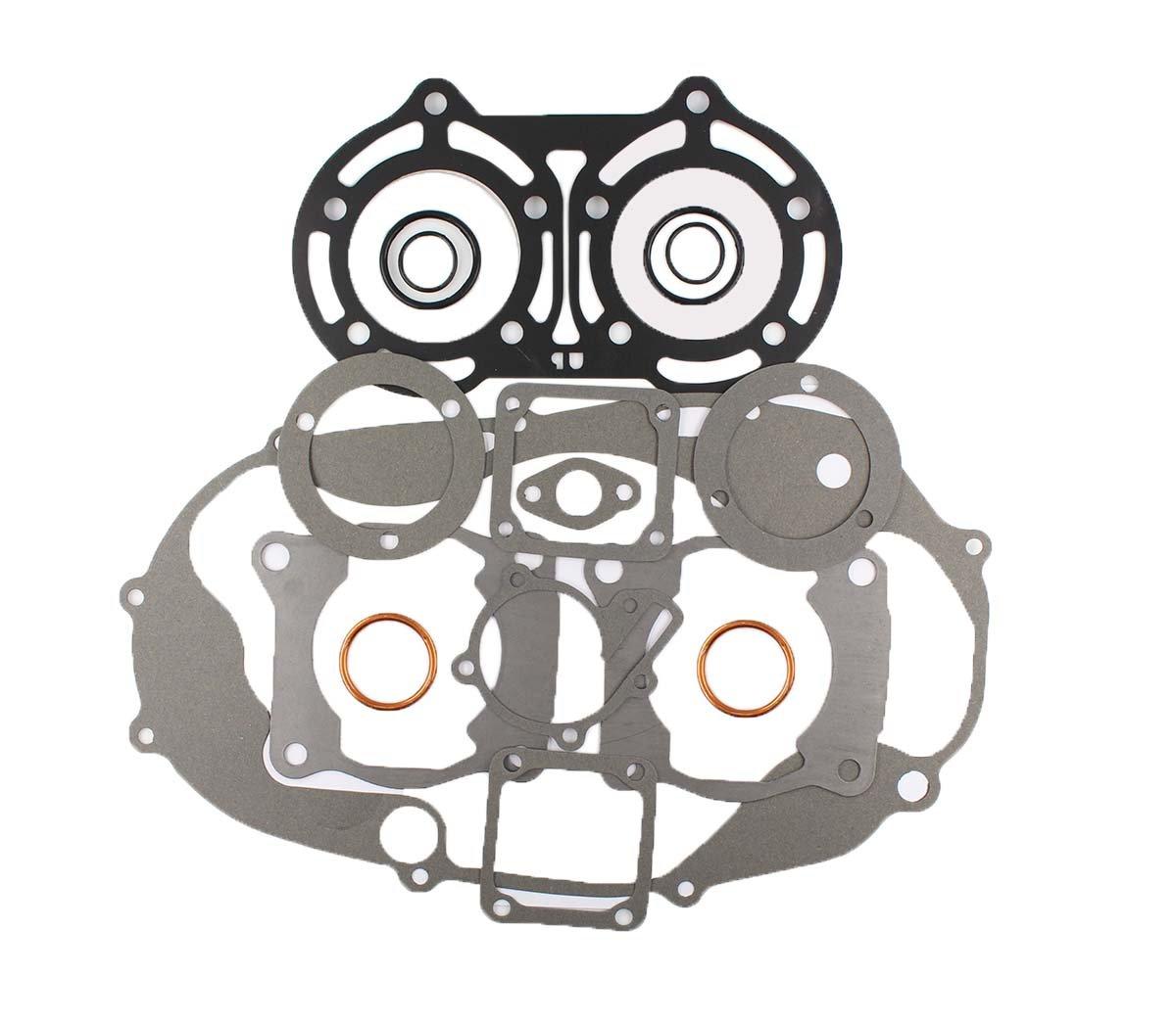 New Complete Gasket Rebuild Kit Set For Yamaha Banshee YFZ 350 1987-2006