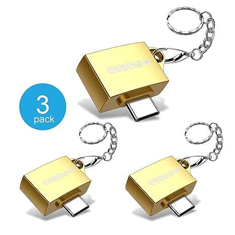 3 unidades] Adaptador USB tipo C OSORIO USB C a USB A ...