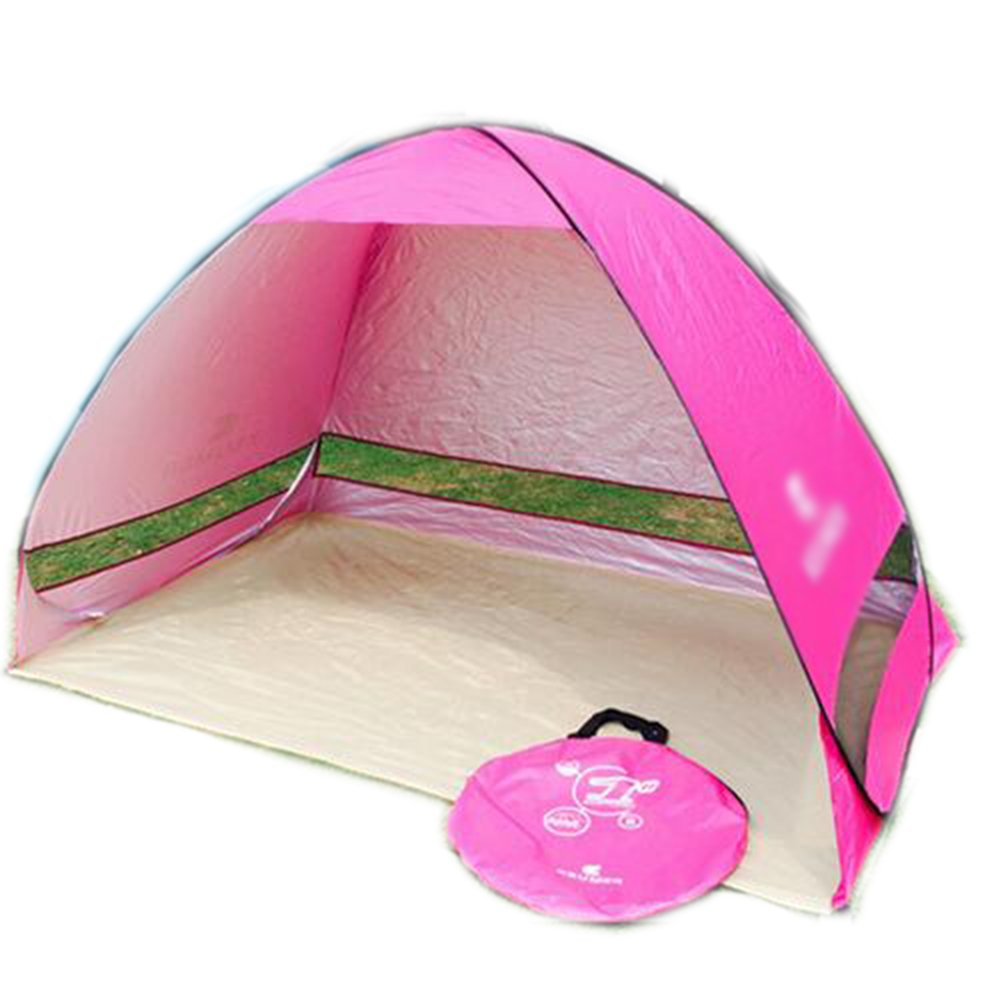 Single Zelt Free Construction Anti - UV Strandzelt Automatisches Schattenzelt Angelzelt