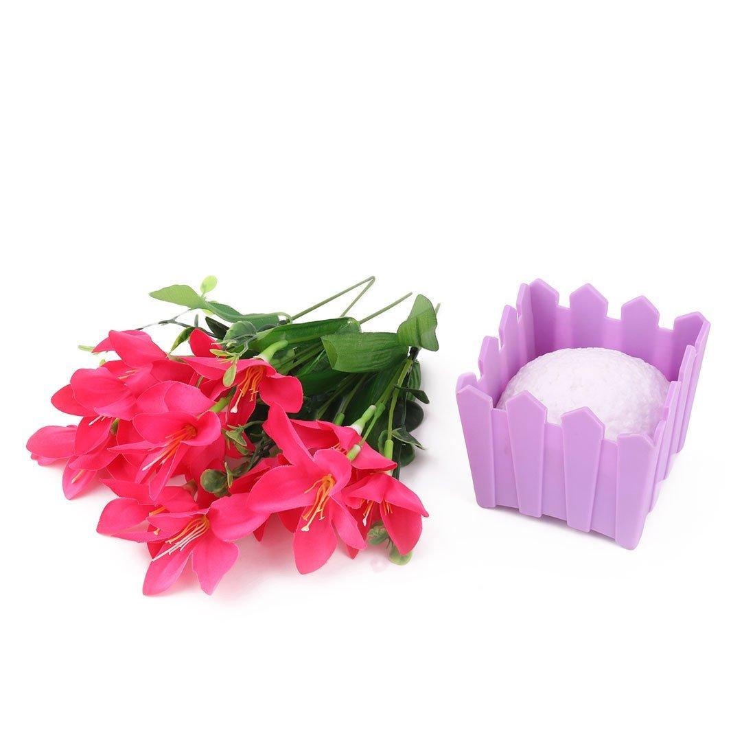 Amazon.com: eDealMax Fiesta de la boda de mesa Tela de la Flor Artificial Artesanía Jardín decorativo: Home & Kitchen