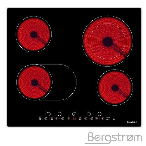 Bergstroem vitrocerámica empotrable hobs eléctrico de hobs ...