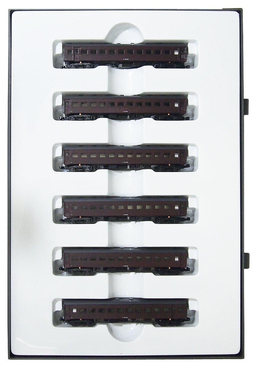 クラウンモデル Zゲージ 3010 国鉄 スハ43系客車 ぶどう色2号 6両セット B00WU0M6RS