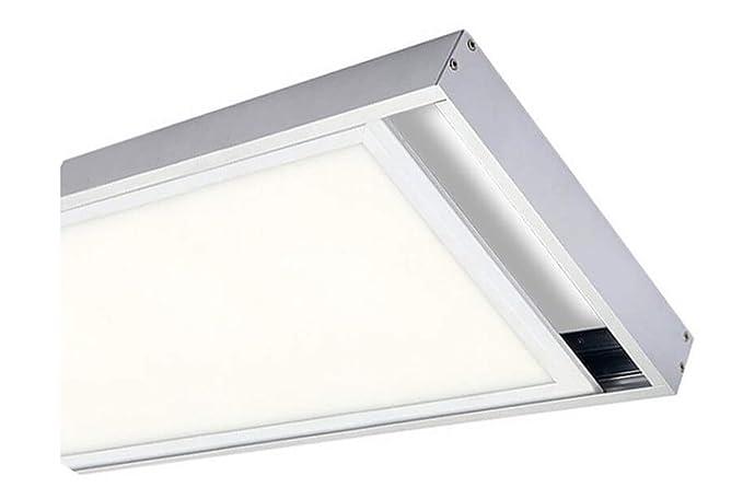 Factorled kit di superficie di panel con cornice bianco