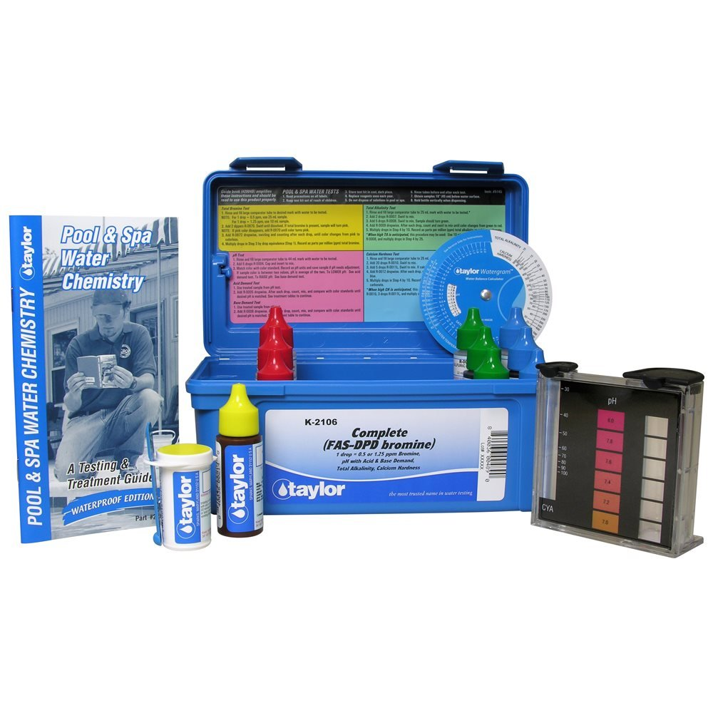 Best rated in swimming pool water test kits helpful customer reviews for Swimming pool test kits amazon