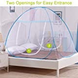 OTraki Pop up Mosquito Net 100x190cm for Baby Crib