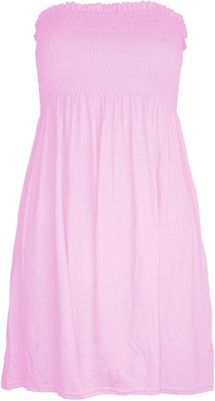 Plain Top Beach Dress Top Casual wear