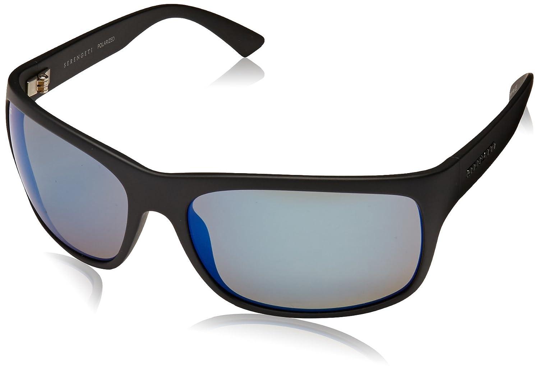 SERENGETI Pistoia Gafas, Unisex Adulto, Negro (Satin Black), L
