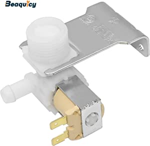 Beaquicy 807047901 Dishwasher Water Inlet Valve GENUINE (Original Part) - Replacement for Crosley Kenmore White-Westinghouse Dishwasher