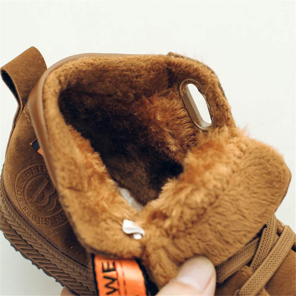 Qianliuk Scarpe da Ginnastica Peluche per Bambini Inverno per ... 1a95170957d