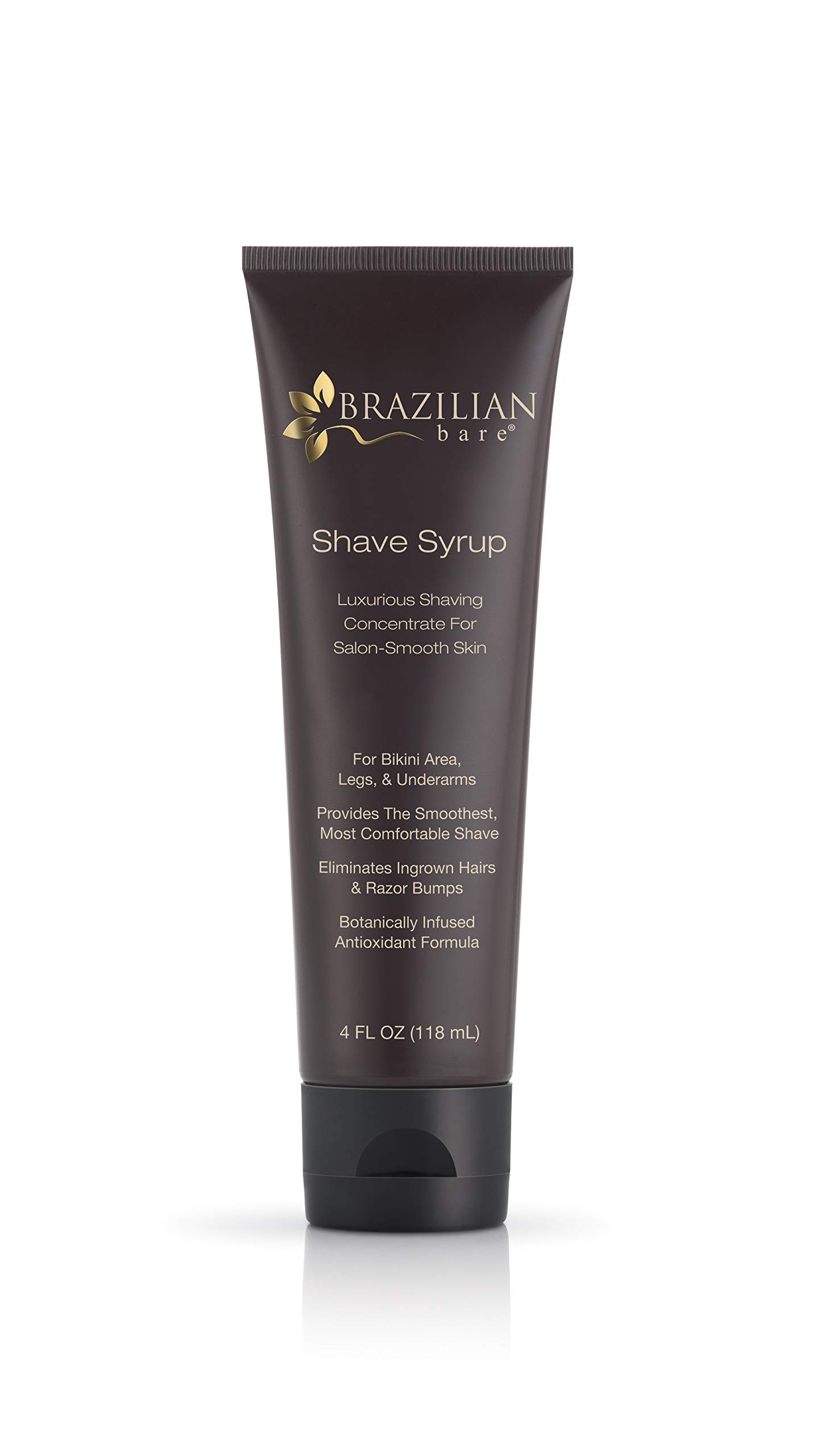 Brazilian Bare Shave Syrup, 4 Fluid Ounce by Brazilian Bare
