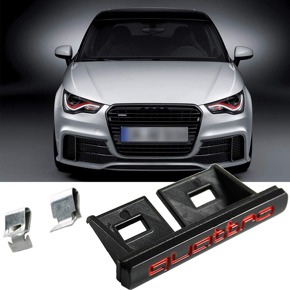 FEIDAjdzf Emblema per Auto Anteriore con Logo Audi