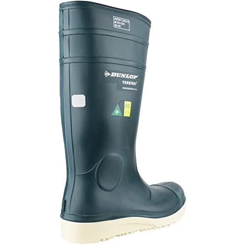 Dunlop Mens Purofort Comfort Grip Steel Toe & Mid Fishery Wellies