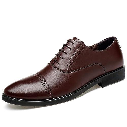 Para Zapatos De Hombres Formales Ocio Ceremonia Cuero E0xdwnf