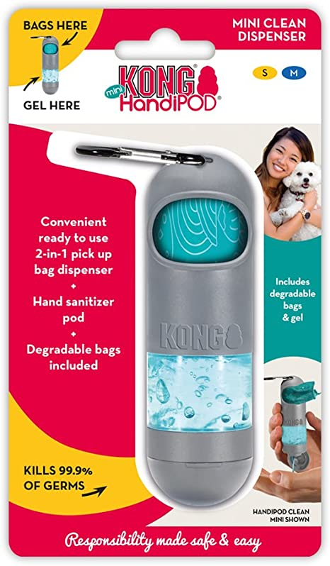 Amazon Com Kong Handipod Mini Clean Dispenser Dog Waste And