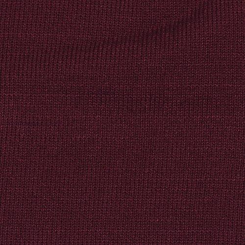 clásico y slouch abrigo gorro moderno beanie diseño suave Burdeos DonDon invierno de de gorro xPznYwpwq