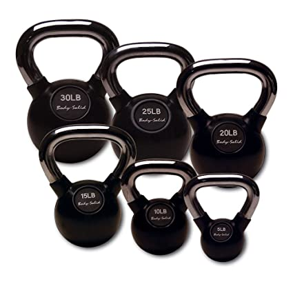 amazon com body solid kbcs105 chrome handle, rubber kettle bellRubberen Kettlebells #16