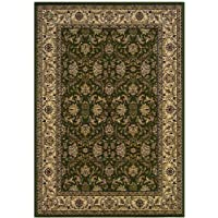 Couristan 6259/3000 Himalaya Isfahan/Deep Sage 2-Feet 2-Inch by 7-Feet 6-Inch Runner Rug