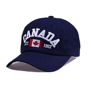 Llxln [Brand] Bingyuanhaoxuan Canadá Carta Bordado De Gorras ...
