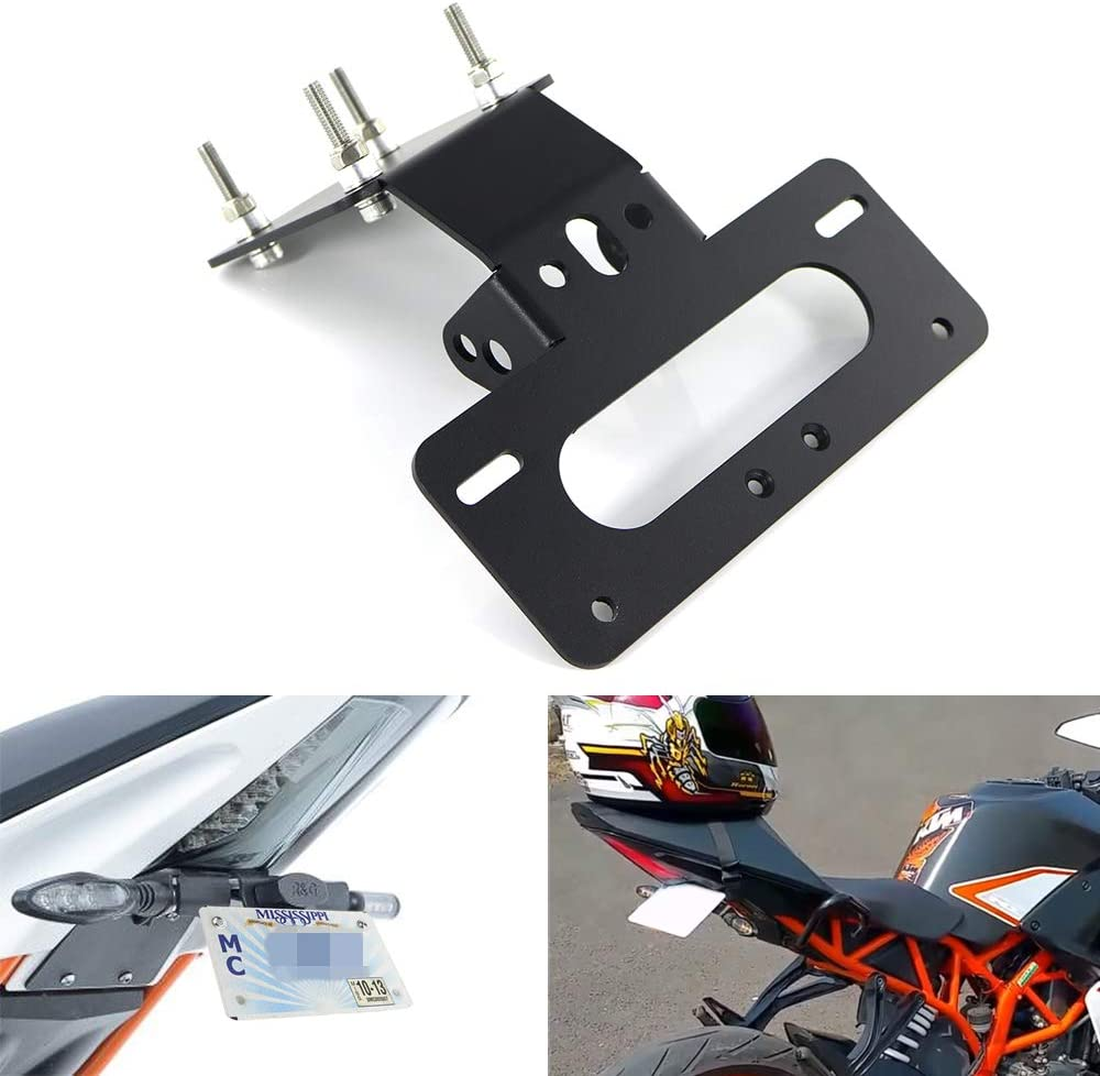 RC390 2014 2015 2016 2017 2018 2019 2020 Compatible with OEM//Stock Turn Signal Xitomer RC390 Fender Eliminator//Tail Tidy For KTM RC125 RC200