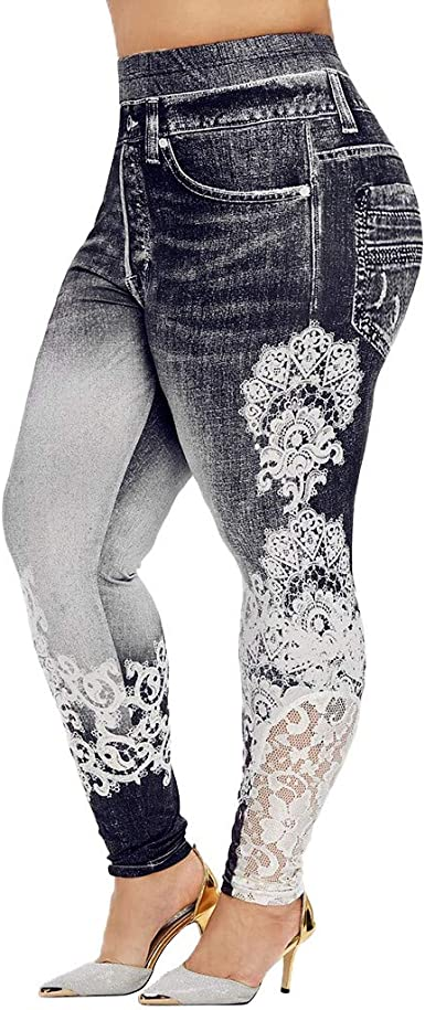 Womens Celeb Stretch Ripped Skinny High Waist Denim Pants Jeans Plus Size UK