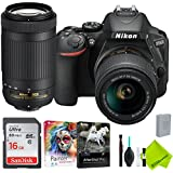 Nikon D5600 DSLR Camera with Nikon 18-55mm f/3.5-5.6G Lens and Nikon 70-300mm Lens 2 Lenses Bundle