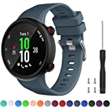 Watbro Compatible with Garmin Forerunner 45 Band, Soft Silicone Sport Replacement Watch Band, Fitness Strap Bracelet…