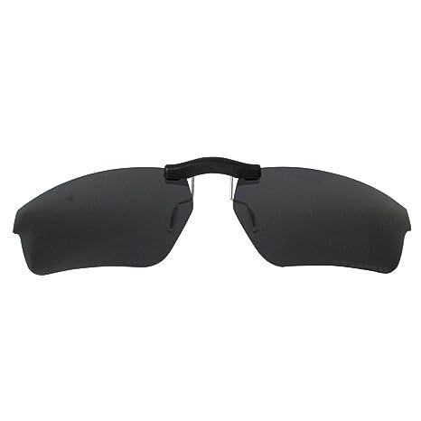 899f4407f61 Custom Polarized Clip On Sunglasses for Oakley Crosslink Sweep OX8031  55x18(No Frame) Black - - Amazon.com
