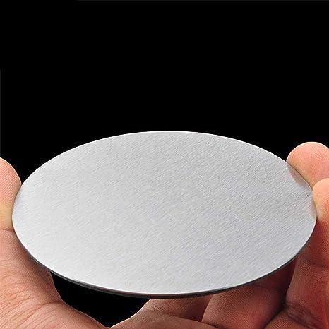 1 mm de Espesor Tiene Una Fuerte Resistencia de Desgaste Y Alta Resistencia Di/ámetro de 50//80 // 100Mm IQQI 5 Piezas de Redondo de Acero Inoxidable Hoja ,50mm in Diameter