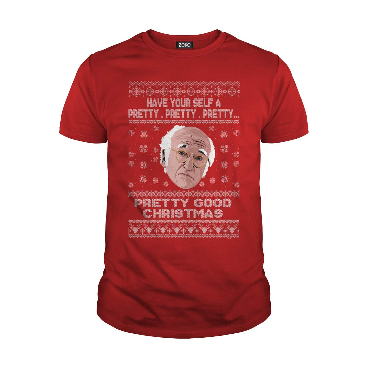 Zoko Apparel Have Your Safe A Pretty Christmas T-Shirt