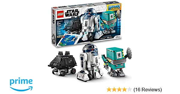 LEGO Star Wars Boost Droid Commander 75253 Learn to Code Educational Tech  Toy for Kids, Fun Coding Stem Set with R2-D2 Buildable Robot Toy, New 2019