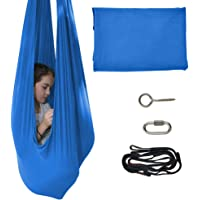 TOPARCHERY Indoor Therapy Swing for Kids Child and Teens w/More Special Needs, Cuddle Hammock Ideal for Autism, ADHD…