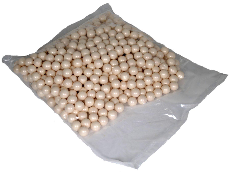 Shop4Paintball - .68 Caliber Scenario/General Play Paintballs (White Ice (White/White), Bag of 1000) by Shop4Paintball