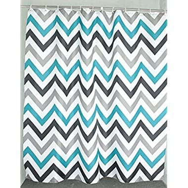 Welwo Chevron Stall Shower Curtain 66  x 72  for Bathroom