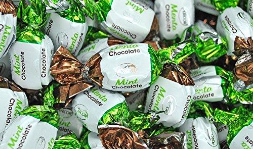 Arcor Chocolate Filled Mint Twists Hard Candies - 1 lb bag ()