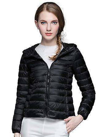 3d283978dff2 sunseen Women s Puffer Jacket Ultralight Packable Short Down Coat ...