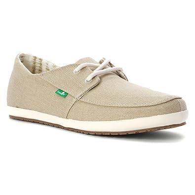 Sanuk Men's Knock Out Shoes Natural Washed 7