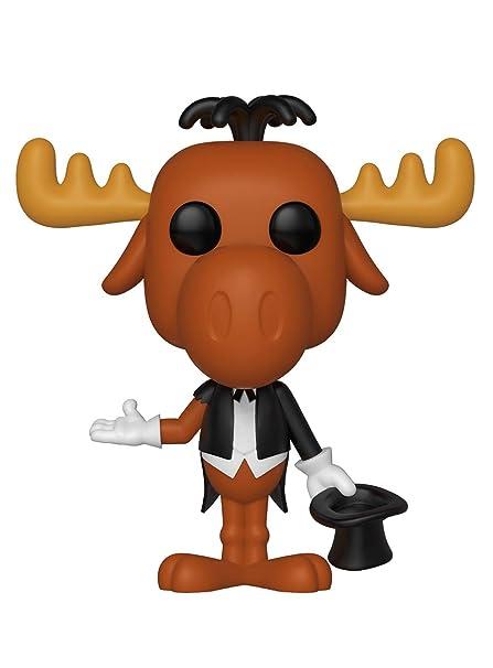 Amazoncom Funko Pop Animation Rocky Bullwinkle Magician