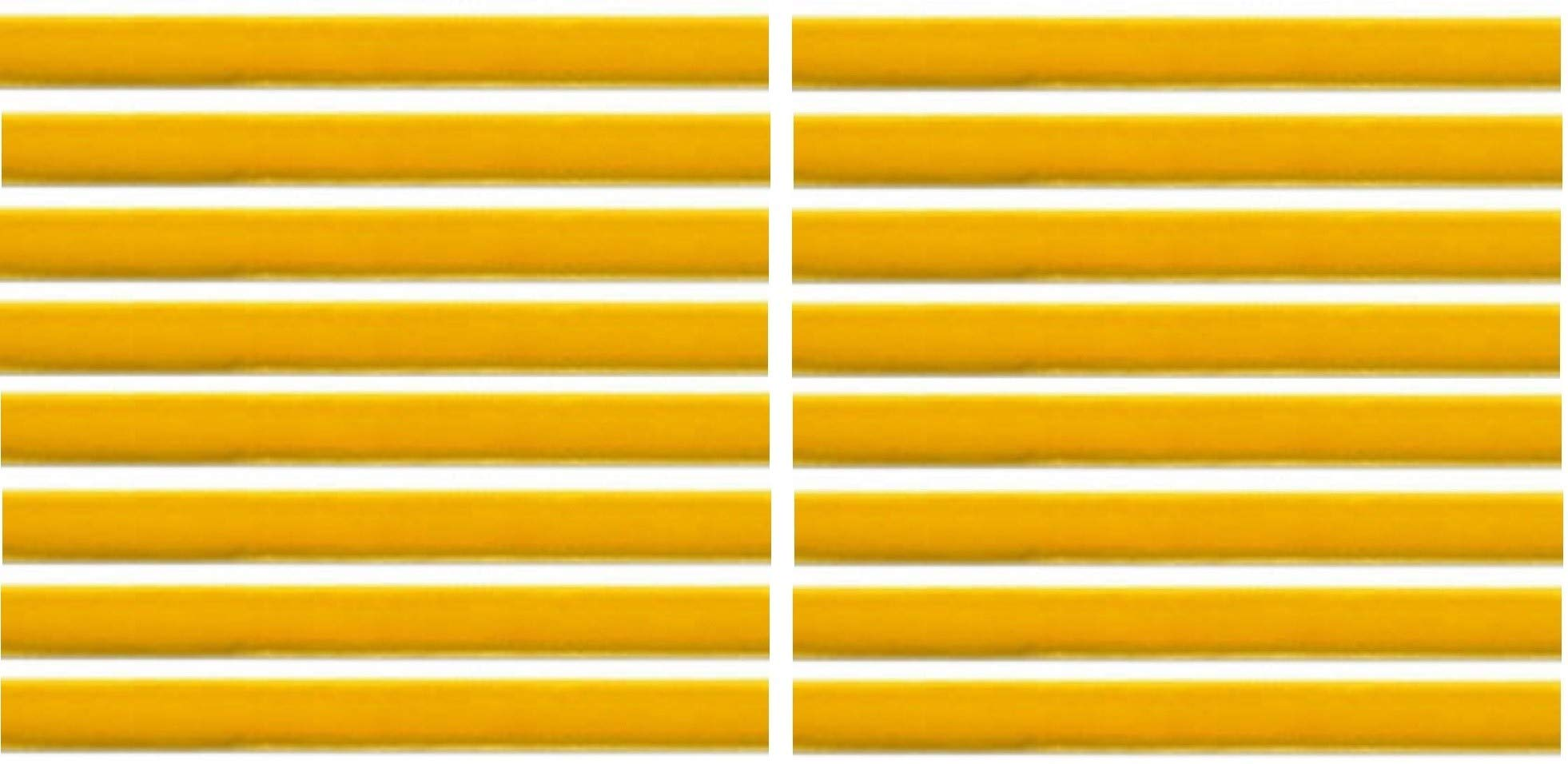 Yellow Gold Replacement Cleaning Strips (16-Pack) VPI Okki Nokki 3M LP Vinyl Record Album