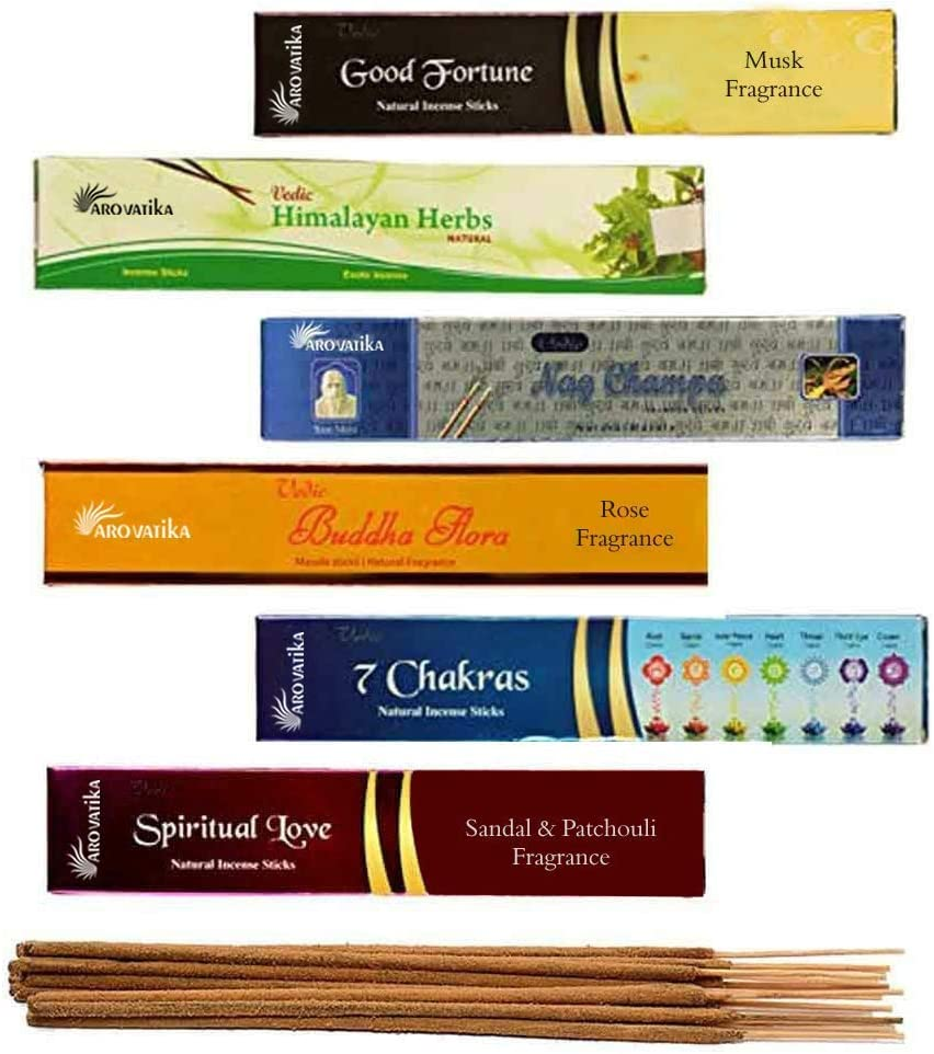 Jasmine Black Champa Set of 12 Nag Champa Red Champa Neem Forest Mystic Rose Incense Sticks Arabian Musk Gold French Lavender Satya Bangalore Super Hit Champa Darshan BNG