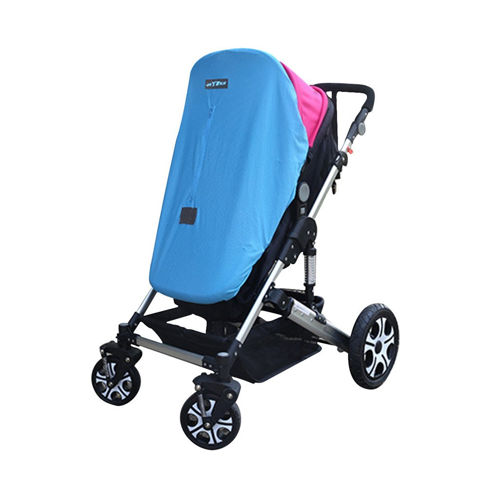 Baby Sleep Stroller Suncover, PHIFO 2 in 1 Pushchair Sunshade with Mosquitoes Net, Sun Shade Stroller, Baby Stroller Sun Cover, Baby Stroller Sleep Cover with UV Protection Sun