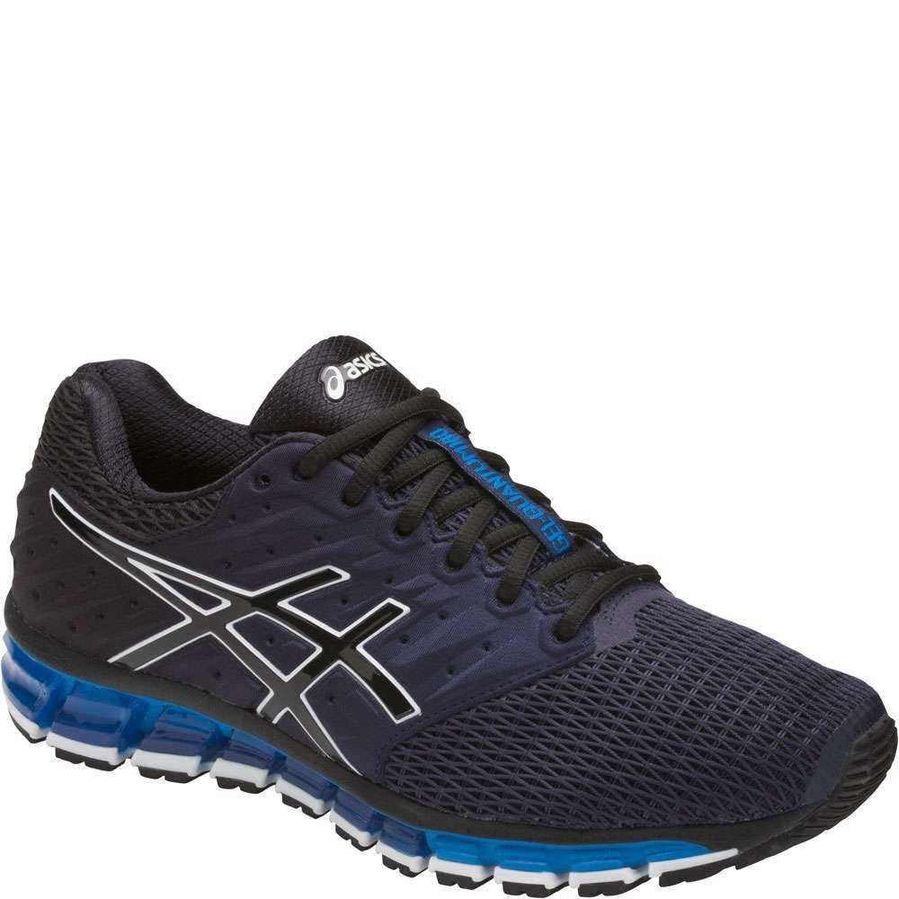 ASICS Men's Gel-Quantum 180 2 Running-Shoes, Peacoat/Black/Directoire Blue, 11.5 Medium US