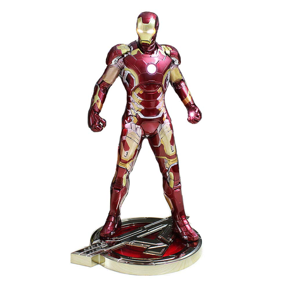 Dr - Iron Uomo Model - Avengers Doll Model Can Glow Anime Doll 30cm-PVC Bambino Regalo di Compleanno
