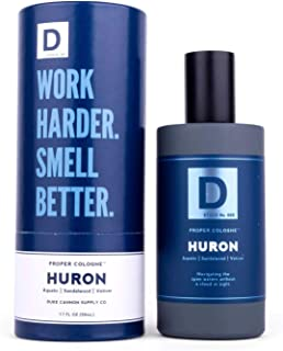 product image for Duke Cannon Supply Co. Proper Cologne, 1.7 Fl Oz - Huron/Eau de Parfum for Men